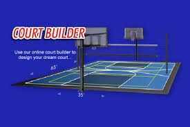 Backyard Basketball Online by New Home Sport Court Of Massachusetts