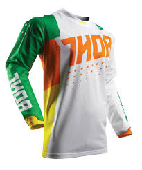 motocross gear ebay thor mx motocross kids 2017 pulse air aktiv jersey cactus choose