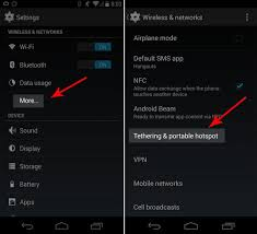 mobile hotspot for android how to turn your smartphone into a wi fi hotspot