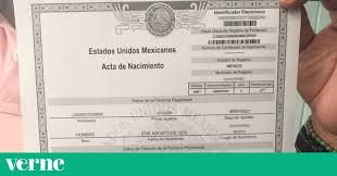 formato de acta de nacimiento en blanco gratis ensayos los mexicanos de cinco estados pueden obtener su acta de nacimiento