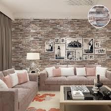 kitchen wallpapers background 38 kitchen 3d effect embossed brick stone wallpaper vinyl nature brown