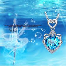 crystal heart necklace wholesale images Wholesale korean chain design online buy best korean chain jpg