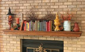 living room fall crafts for mantel decorating ideas gray and