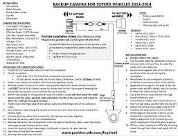amazon com pyvideo rear backup camera kit for toyota camry