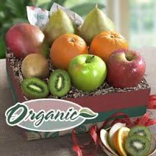 organic fruit gift baskets organic fruit gifts a gift inside