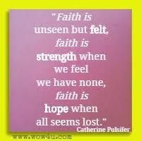 faith quotes inspirational words of wisdom