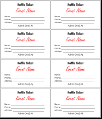 raffle template 28 images search results for a raffle ticket