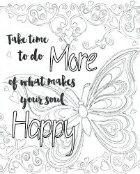 coloring pages for adults inspirational inspirational quotes coloring pages fansign me