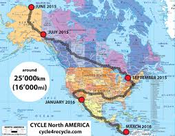 Map The Usa by Cycle Americas 2015 2017 Cycle For Recycle