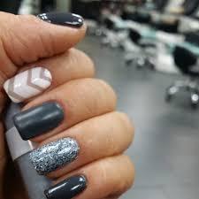 shellac chevron nail designs images