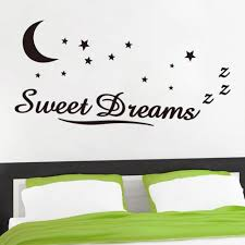 Home Decor Quotes by Aliexpress Com Buy Zy8245 Wall Sticker Quotes Sweet Dreams Moon