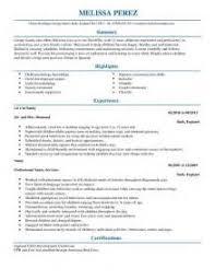 nanny resume sample templates nanny resumes samples sample resume