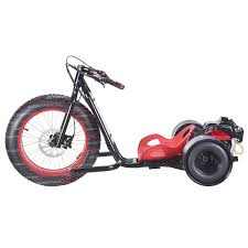6 5hp gas powered scooterx drift trike aka big wheel 3 wheeler