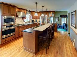 Kitchen Peninsula With Seating by Remodeling Trends March 2014