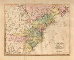 A Picture Of The Map Of The United States by Antique Maps Of The United States