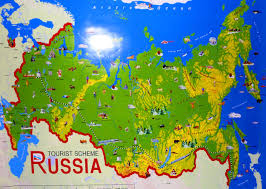 russia in maps tourist map of the world major tourist attractions maps