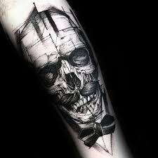 50 3d skull tattoo designs for men cool cranium ink ideas