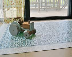 vinyl floor mat etsy