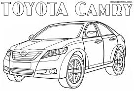 toyota camry 2017 coloring pages adults color coloring
