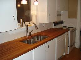 kitchen butcher block countertops cost least expensive