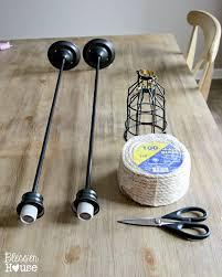 Make Your Own Pendant Light Fixture Aliexpress Buy Diy Vintage Retro Black Pendant Lights For