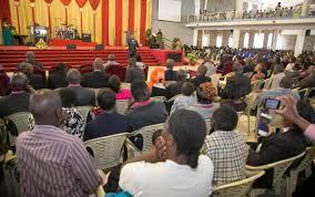 uhuru kenyatta on attended a thanksgiving sunday service