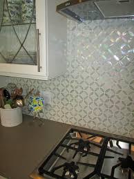 uniform brick white glass and stone tile glossy jewel jewelled spa