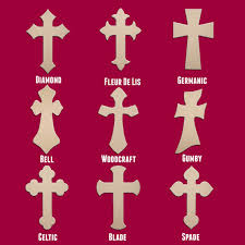 unfinished wooden crosses 24 wood cross unfinished diy large wooden craft cutout