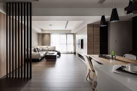 contemporary style interior harmony created by wood and contemporary style