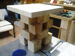 Wood Block Side Table Amazing Pallet Blocks Side Table 99 Pallets