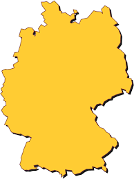 Germany On Map by German Flag On Map Clip Art Library