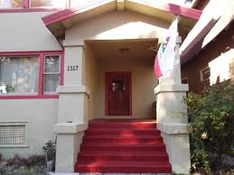 exterior color inspirations the classic brilliant bold painted red
