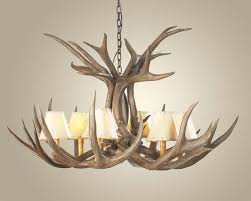 How To Make Deer Antler Chandelier Mule Deer Antler Chandelier Antler Chandeliers Free Shipping