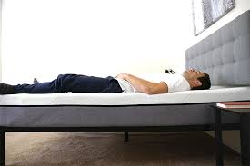 Low Lying Bed Frames Yogabed Mattress Review Sleepopolis