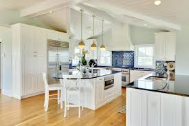 Kitchen Best Design Kitchen Good Looking Off White Kitchen Cabinets Black Appliances