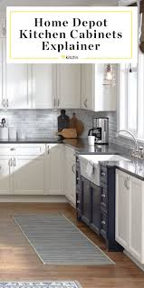 home depot unfinished kitchen cabinets in stock home depot kitchen cabinets explainer kitchn