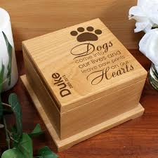 wooden pet urns personalized pet cremation urn memorial wooden dog paw