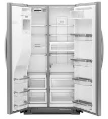 kitchenaid cabinet depth refrigerator kitchenaid 24 cu ft side by side counter depth refrigerator