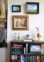 Second Hand Bookshelf My Hopelessly Addicted To Craigslist Home Tour Offbeat Home U0026 Life