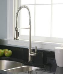 Industrial Kitchen Faucets Industrial Kitchen Faucet For Home Battey Spunch Decor