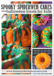 spiderweb cakes halloween recipes for kids