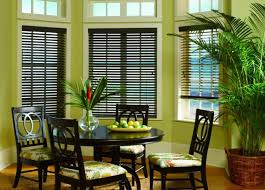 Dining Room Window Dining Room Curtains Dining Room Window Treatments Budget Blinds