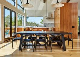 modern barn kitchen studio zung creates cedar clad