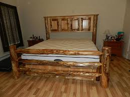 Natural Pine Bedroom Furniture by Rustic Pine Bedroom Furniture Brown Floral Pattern Sheet Bed Two