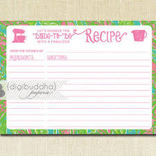 shop printing recipe cards on wanelo