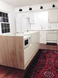 how do you attach island cabinets to the floor schultz a diy kitchen island