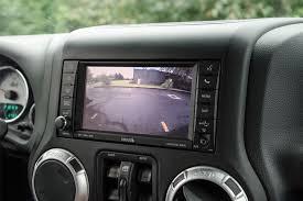 aev rear vision system rear system for jeep wrangler jk