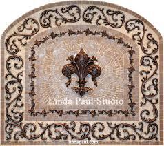tile medallions for kitchen backsplash tile medallions for kitchen backsplash mosaic and metal arched