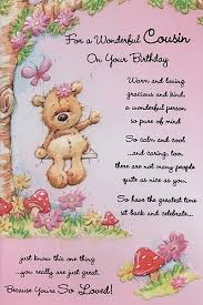 cousin birthday card birthday cards relation birthday cards cousin for a