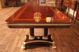 mahogany dining room set mahogany dining table copyrighted design opens to feet high end room